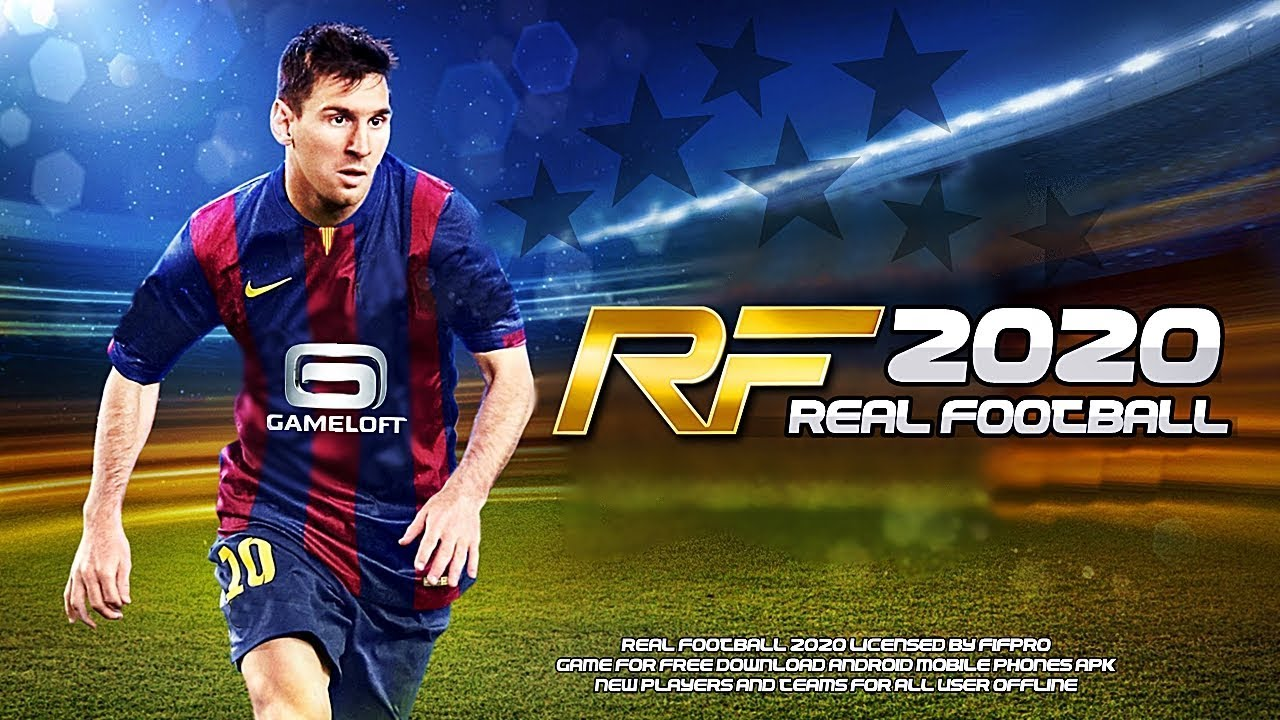 SAIUU NOVO REAL FOOTBALL 2020 BEST GRAPHICS GAMELOFT OFFLINE 460mb ANDROID  APK DOWNLOAD ATUALIZADO
