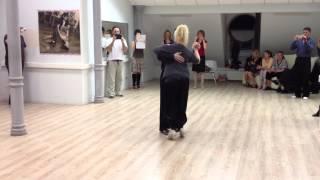 Elvira Malishevskaya y Alex Barbolin. Ревью урока, вальс - смена направлений.