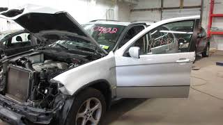 Parting out a 2006 BMW X5 parts car - 180402 - Tom's Foreign Auto Parts