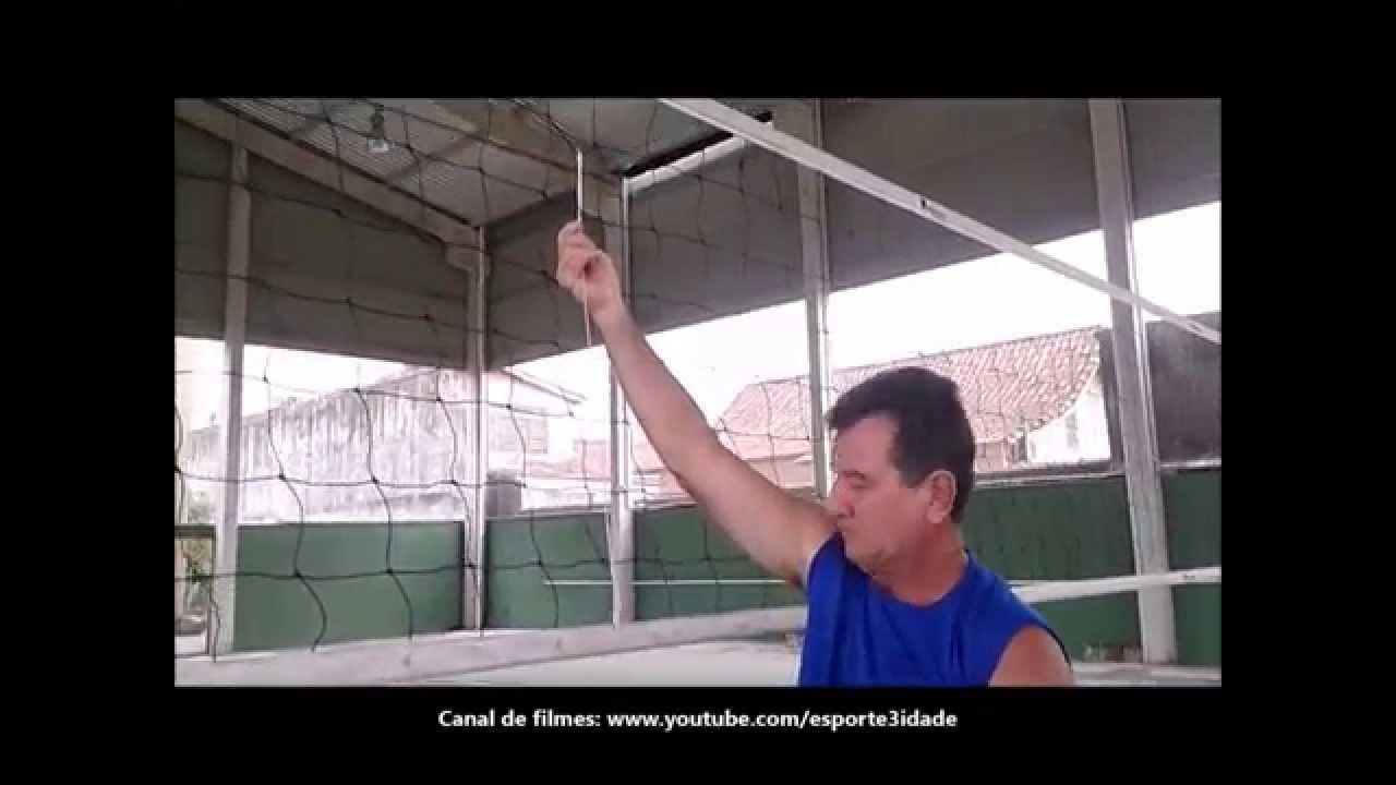 df8ef7ddd MEDINDO ALTURA REDE DE VÔLEI ADAPTADO À TERCEIRA IDADE PARA  MASCULINO FEMININO - YouTube