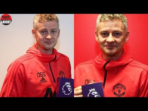 solskjaer-reacts-to-winning-manager-of-the-month-award-for-january!---ole-gunnar-exclusive-press!