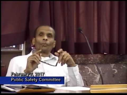 Public Safety Committee - February 7, 2017