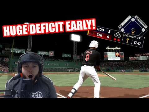 HUGE DEFICIT EARLY! 99 Dustin Pedroia & 98 Jason Giambi!  - MLB The Show 17 Diamond Dynasty Gameplay