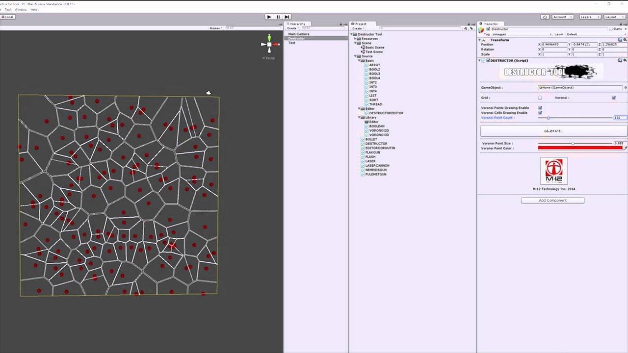 Voronoi Cells Unity3d Youtube Diagram Generator