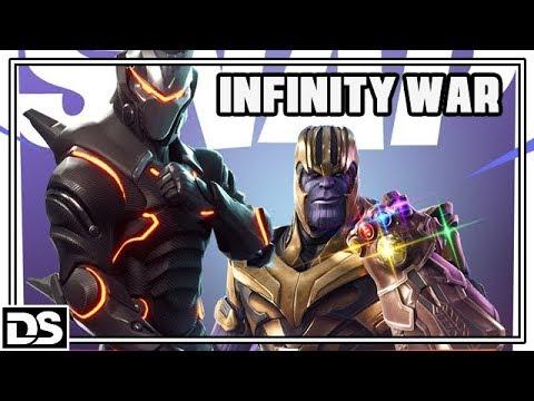 Thanos & der Avengers Infinity War - Fortnite Battle Royale Deutsch DerSorbus