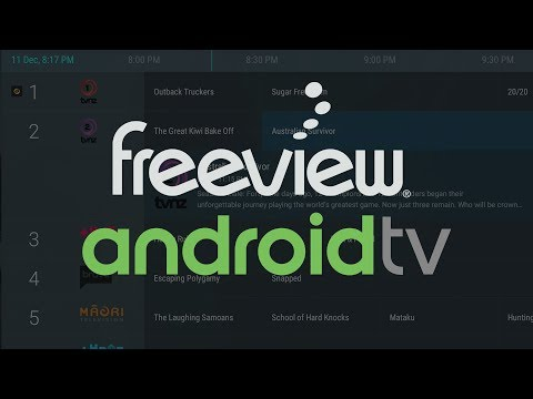 New Zealand Freeview IPTV Channels on Android TV