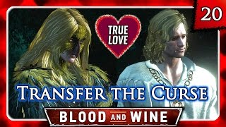 Witcher 3 🌟 BLOOD AND WINE 🌟 Vivienne and Guillaume HAPPY ENDING - Transfer the Curse to Guillaume