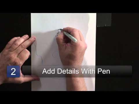 How To Draw A Cartoon Polar Bear