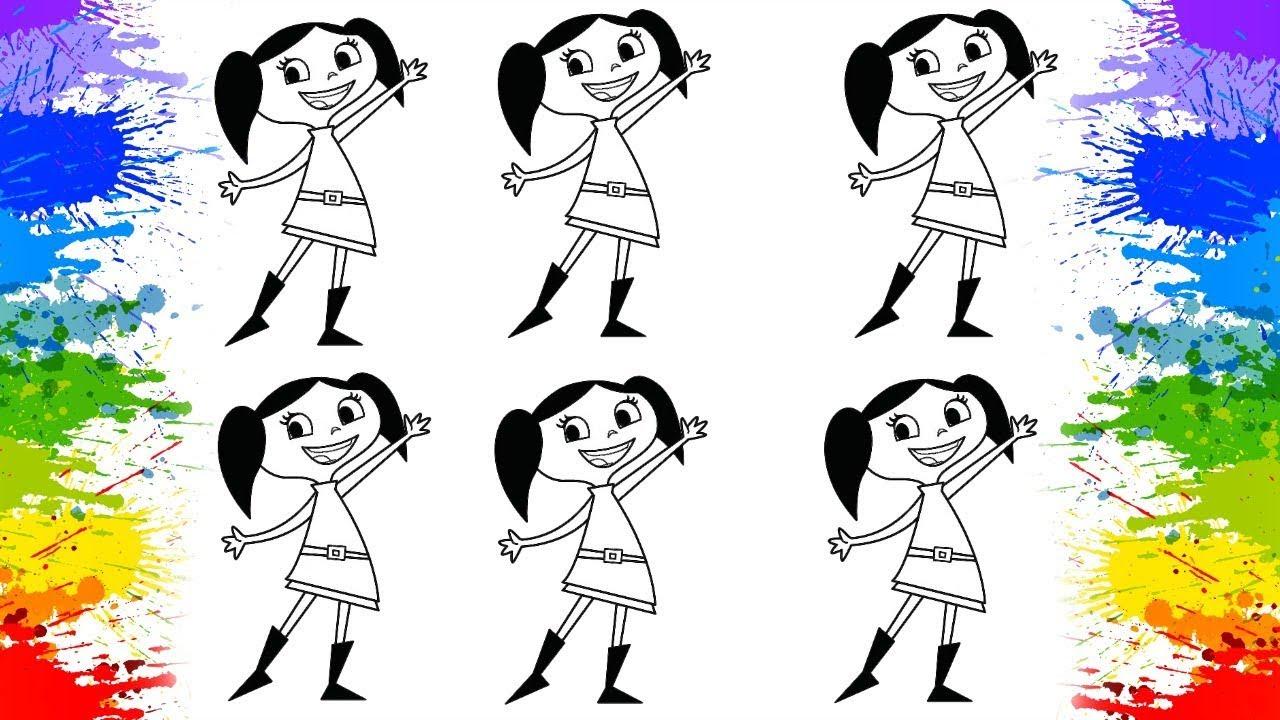 O Show Da Luna Colorindo Desafio Desenho Animado Cartoon Para