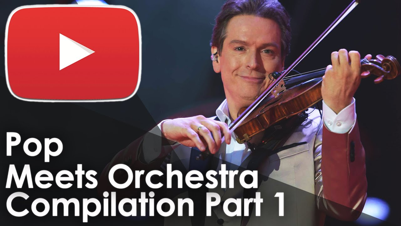 Pop Meets Orchestra Compilation Part 1 - The Maestro & The European Pop Orchestra (Live Music Video)