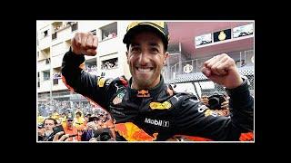 Daniel Ricciardo wins Monaco Grand Prix