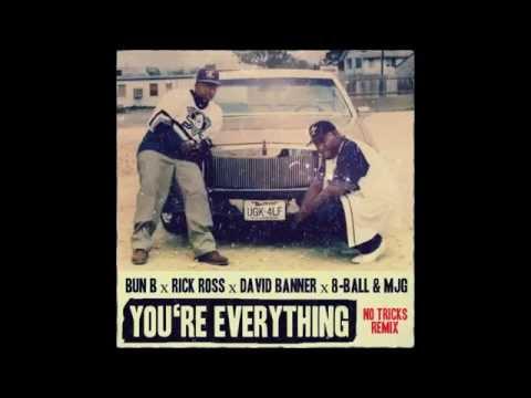 Bun B - You're Everything (No Tricks Remix) (feat. Rick Ross, David Banner, 8-Ball & MJG)