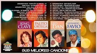 KiNG CLAVE, PALiTO ORTEGA, LEO DAN, LEONARDO FAVIO, Grandes Exitos, romanticos