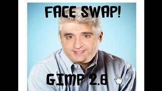 Gimp Face swap 2.8 Tutoria inl HD