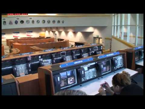 Kennedy Space Center Launch Control Center - YouTube