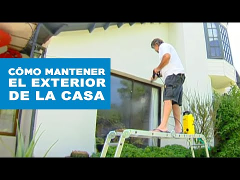 C mo limpiar y mantener el exterior de la casa youtube - Limpiar la casa ...