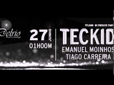 DJ TECKID@HARDGROOVE SET - DEL RIO - 7FLOOR PRIVATE PARTY #1 PARTE 2