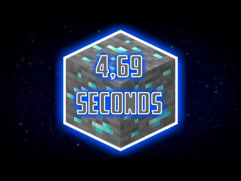 I set the world record for finding diamonds as fast as possible