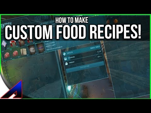 Making custom food recipes solo official pvp servers ark making custom food recipes solo official pvp servers ark survival evolved forumfinder