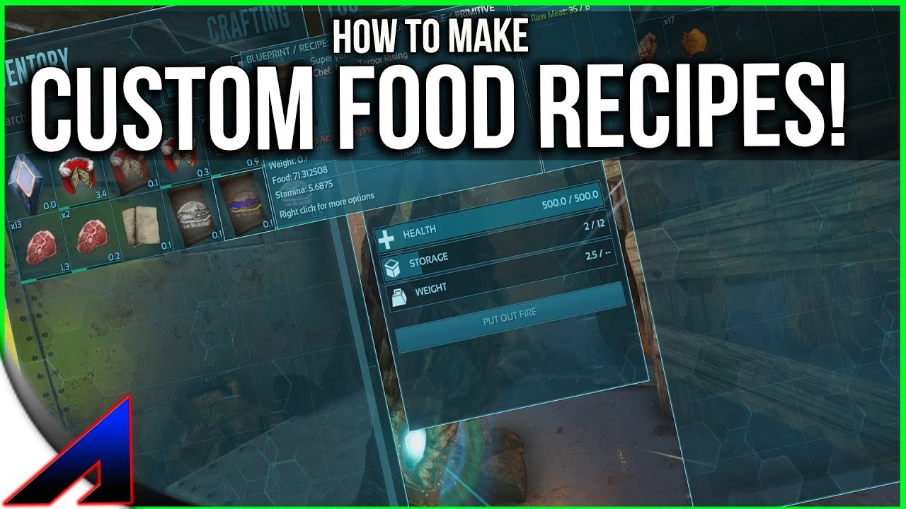 Making custom food recipes solo official pvp servers ark making custom food recipes solo official pvp servers ark survival evolved ep 75 forumfinder Images