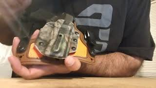 Black Arch holster review for a Sig P365