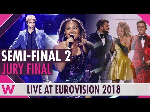 Eurovision 2018: Semi-Final 2 qualifiers (Prediction before jury show)