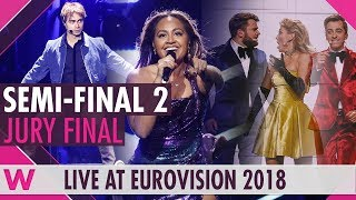 Eurovision 2018: Semi-Final 2 qualifiers (Prediction before jury show)