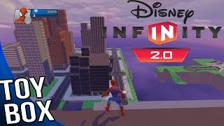 Disney Infinity 2.0 Marvel Super Heroes - Toy Box Mode Gameplay