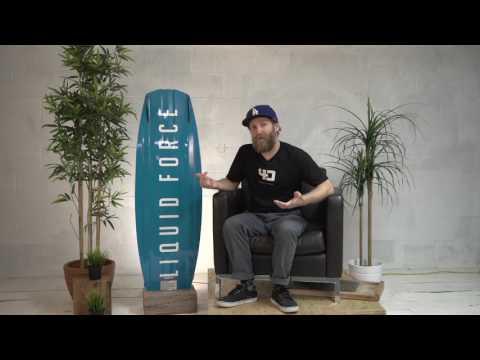 2017 Liquid Force Tech Talk - Harley Classic Wakeboard