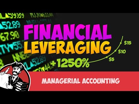 What is Financial Leverage or Leveraging (Managerial Accounting Tutorial #18)