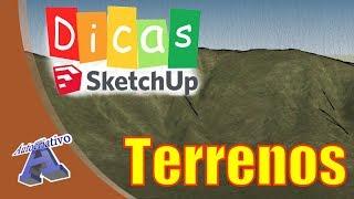 Terrenos no SketchUp (Parte 5) - Ferramentas Caixas de Areia - Autocriativo
