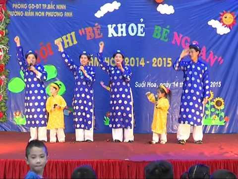 Hội Thi Bé Khỏe Bé Ngoan Trường Mầm Non Phương Anh Năm 2015 2