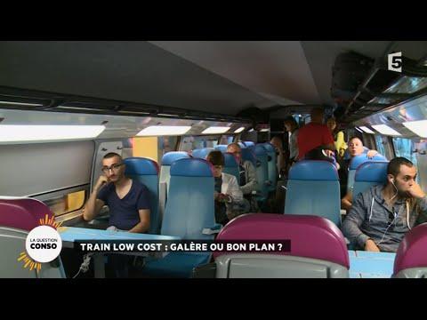 Train low cost gal re ou bon plan youtube for Interieur ouigo