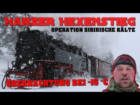 Harzer Hexenstieg: OPERATION SIBIRISCHE KÄLTE | Teil 1 von 5
