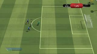 Fifa skill games/advanced shooting goals