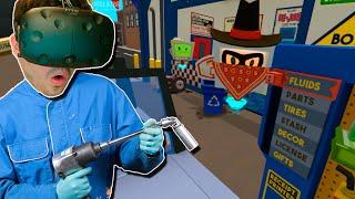 AYUDANDO A UN ATRACADOR!! Job Simulator (HTC VIVE VR) thumbnail