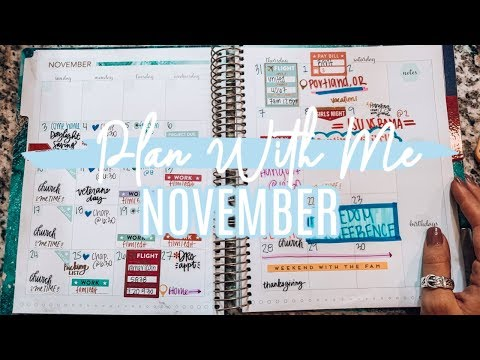 Plan With Me | NOVEMBER 2019