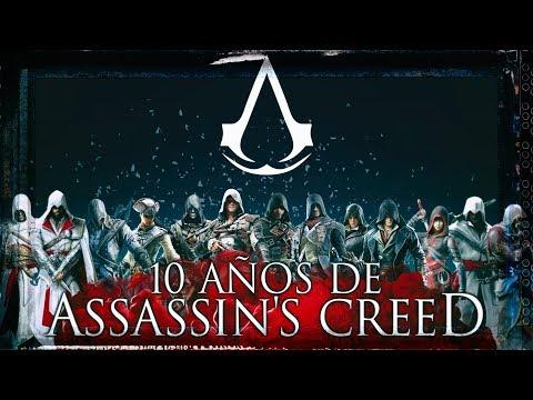 10 Años de Assassin's Creed | La Saga Completa | Reportaje y Cronología