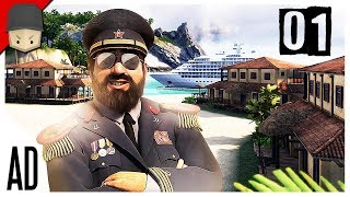 Tropico 6 - Ep.01 : EL PRESIDENTE! (Tropico 6 Full Version Gameplay)