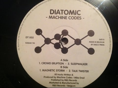 diatomic [machine codes] full ep dt 002 90s belgium acid techno hardcore acid house industrial acid