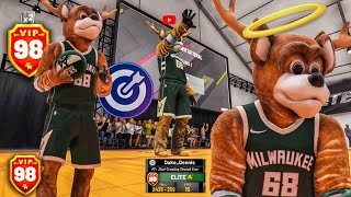 I won the 1V1 EVENT with my MASCOT on NBA 2K19! Stretch Big Demigod Build 2k19! Best build 2k19