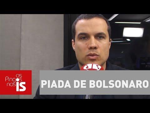 Felipe Moura Brasil Analisa Criminalização De Piada De Bolsonaro