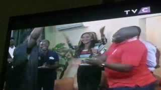 Nigerias Apc Vice Presidential Aspirant Singing Amin With Dammy Krane ,9ce and other celebrities