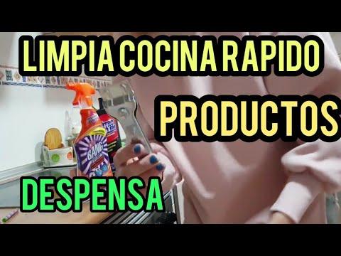 Como limpiar cocina r pido productos kitchen tour organizaci n de alimentos youtube - Como limpiar rapido ...