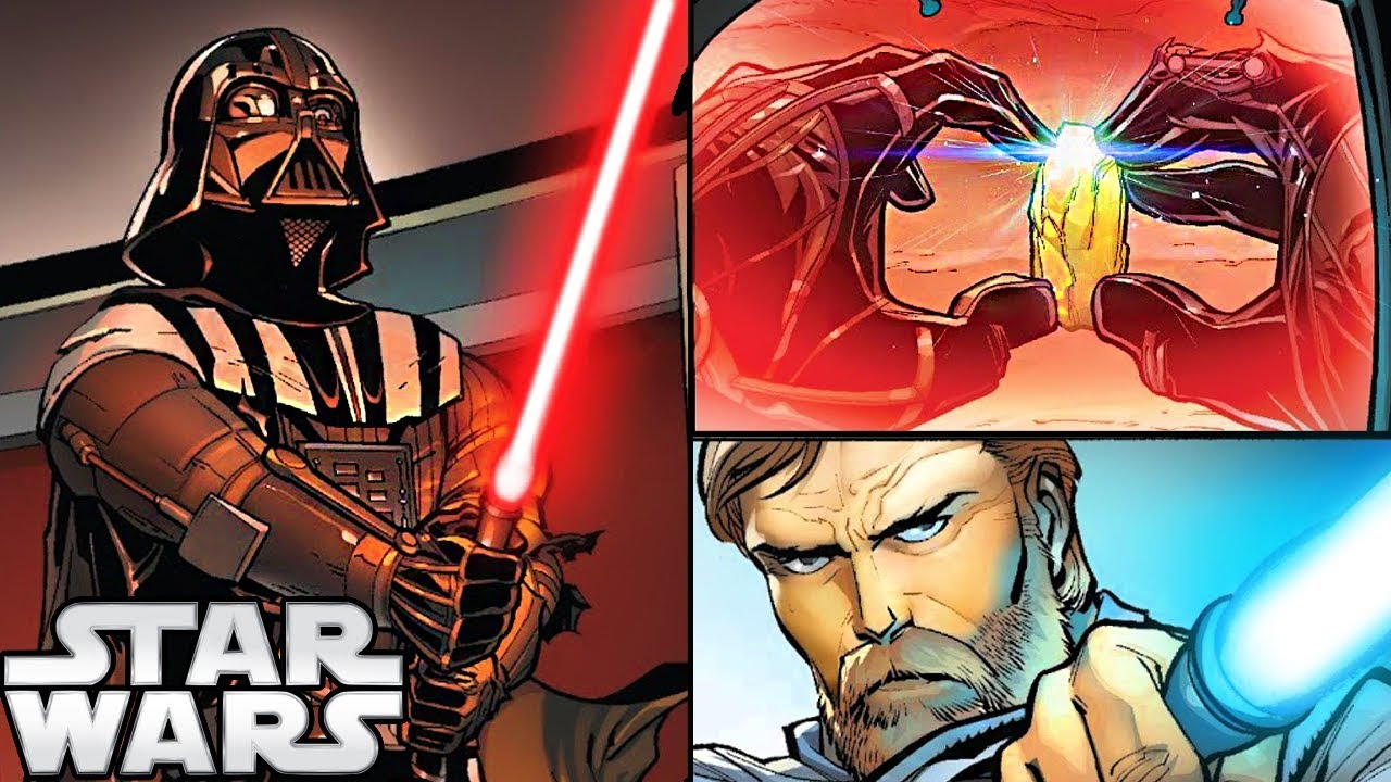 Darth Vader Canon Vs Ares Dceu: How Darth Vader Turned His Lightsaber RED (CANON)