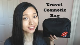 What Is In My Travel Cosmetic Bag