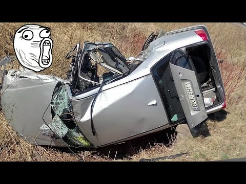 22 Min Retarded CAR CRASH COMPILATION - Crazy Traffic Accident - Dash Cam Crash Collision Part.71