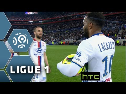 Lacazette's hat-trick sends Lyon into the Champions League : Week 37 / 2015-16