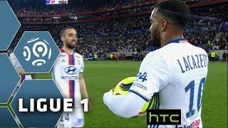 Lacazette's hat-trick sends Lyon into the Champions League : Week 37 / 2015-16