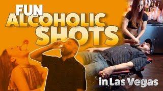 Fun Alcoholic Shots in Las Vegas - (4 Bars)